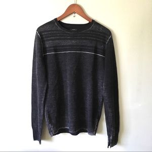 All Saints Helvellyn Crew Merino Wool Sweater